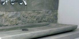 évier et vasque en pierre