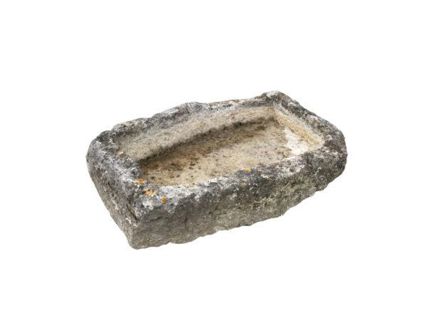 bac ancien en pierre de récupération
