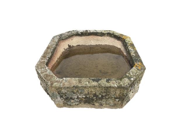 bac en granit octogonale