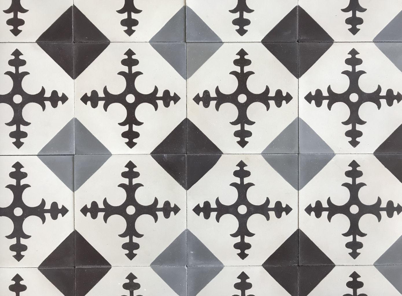 carreaux de ciment style ancien finition vieillie bca mat riaux. Black Bedroom Furniture Sets. Home Design Ideas