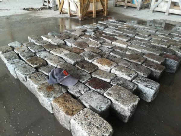 pavé de rue en granit