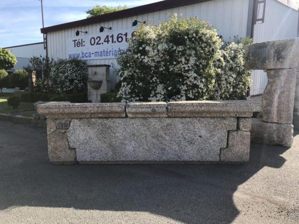 linteau de cheminée en granit