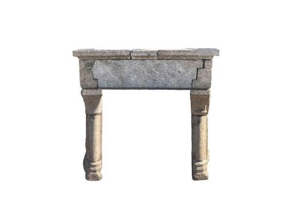 Cheminée ancienne en granit