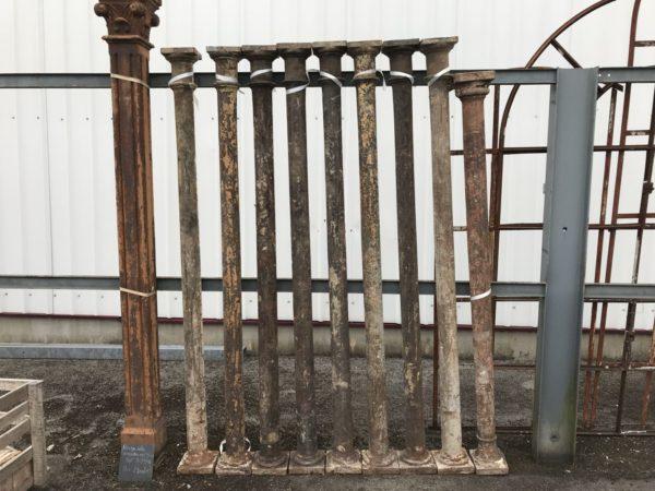 colonne ancienne en fonte