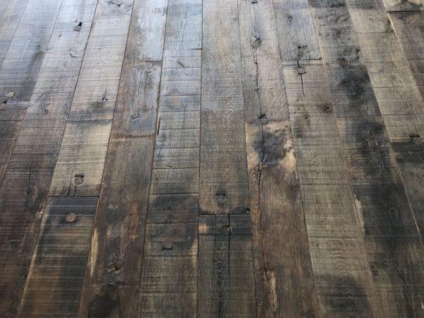 plancher fond de wagon en chêne