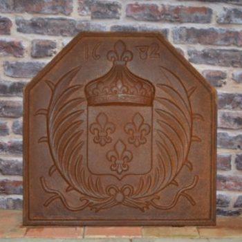 plaque de cheminée ancienne