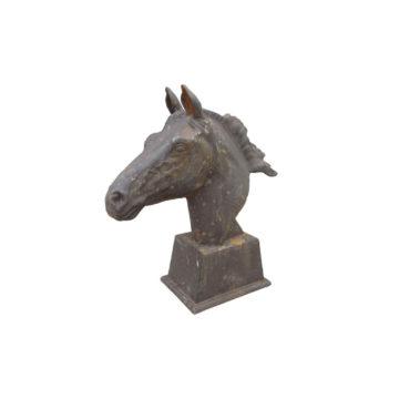 tête de cheval en fonte