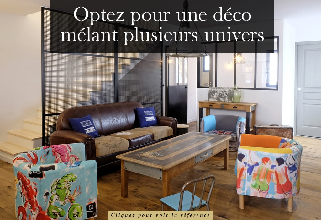 Idée de décoration intérieur avec plancher ancien