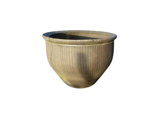 vase en terre cuite pour espace extérieur style ancien