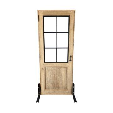 porte en bois vitrée pour intérieur