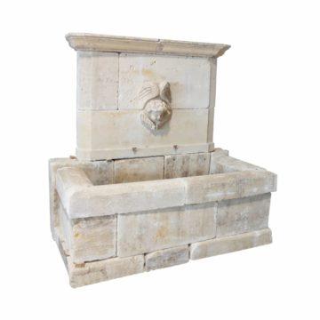 fontaine materiaux anciens calcaire