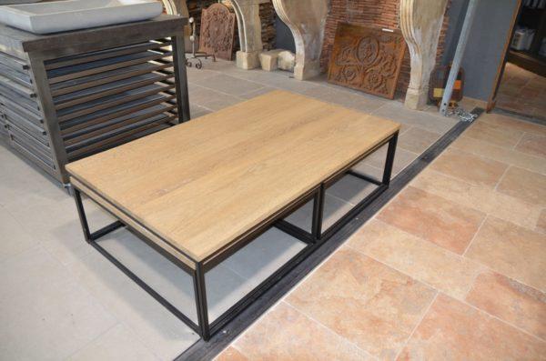 table basse bois gigogne