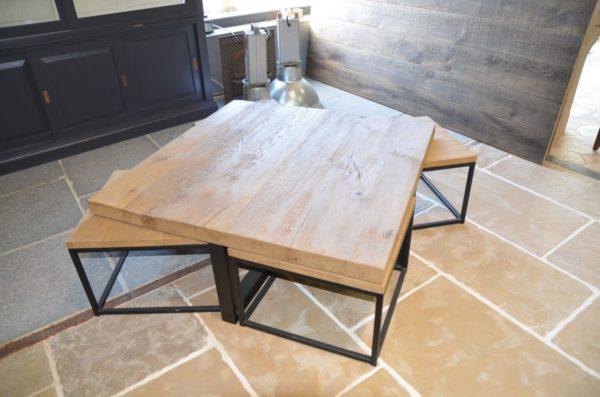 table en chene bois design