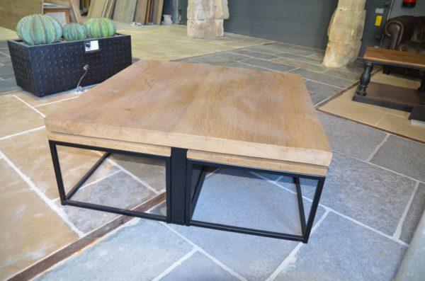 table rangé en 5 pièces design metal