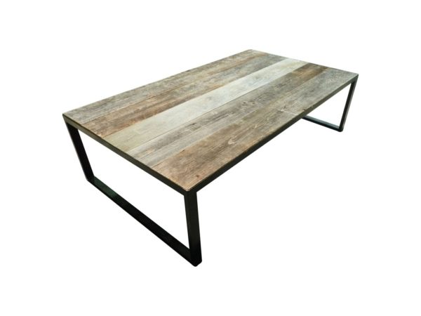 grande table basse en bois