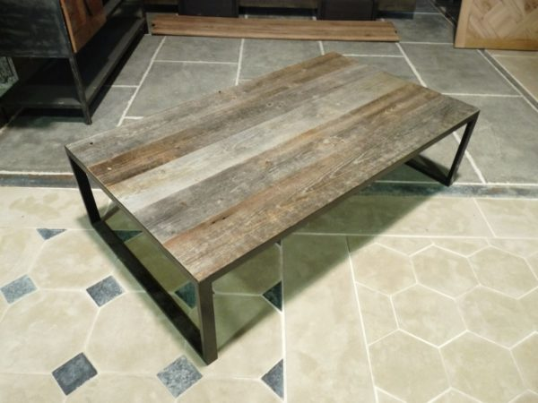 grande table basse en metal