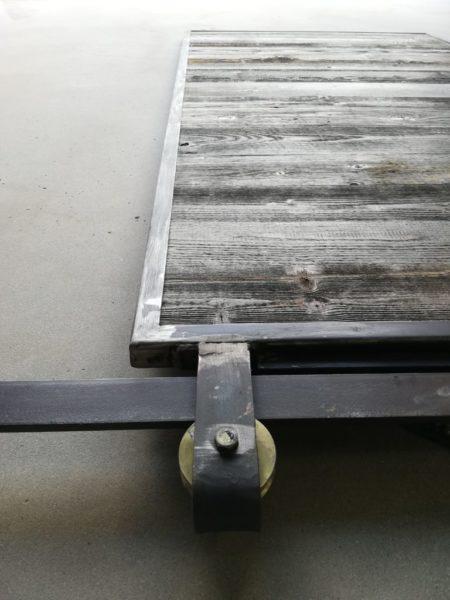 porte coulissante sur rail