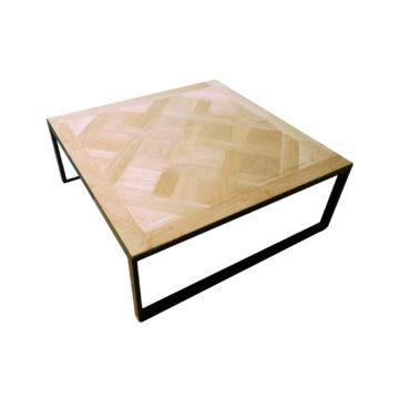 Table basse bois et ardoise - 75 cm de largeur | BCA ...