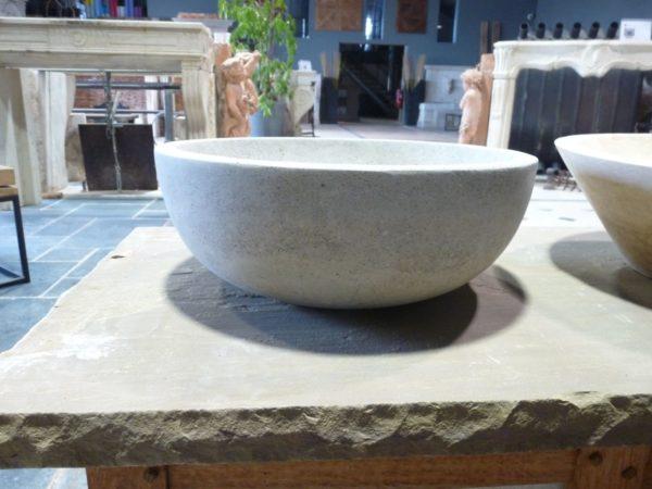 vasque argos gris pour salle de bain