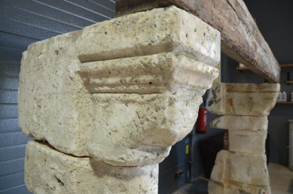 cheminée en pierre pour interieur