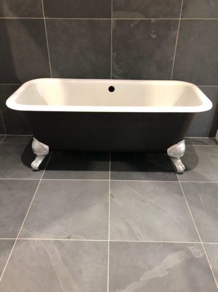 baignoire retro pour salle de bain