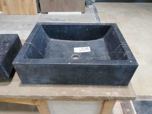 vasque en pierre naturelle bleue style lavabo design