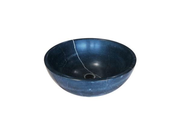 Lavabo rond en pierre bleue