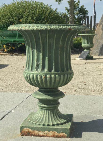 paire de vase verte ancienne