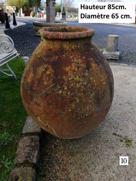vase antique ancien numero 10