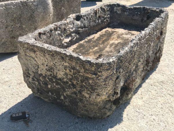 auge ancienne pour plantes ou eau style authentique