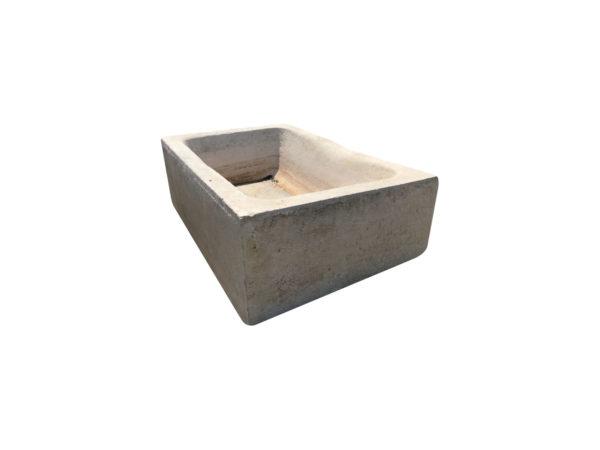 bac ancien en pierre calcaire beige