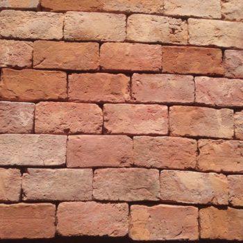 brique ancienne rouge pour mur et parement