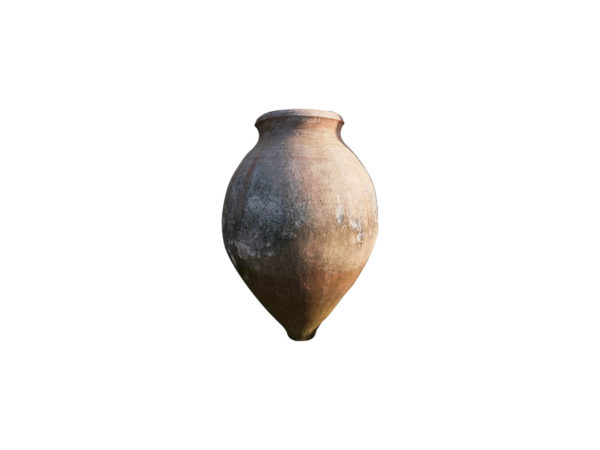 Jarre style antique en terre cuite