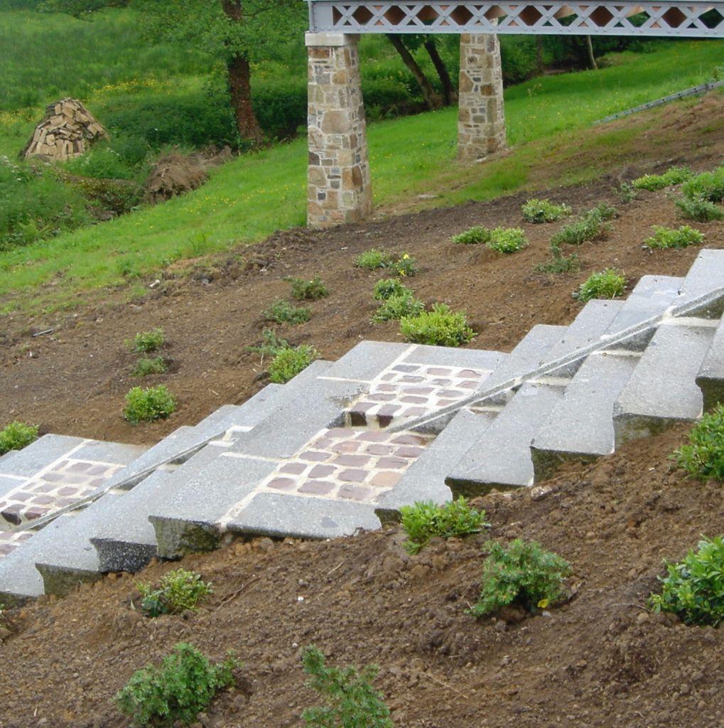 caniveau d'évacuation en granit pour renovation