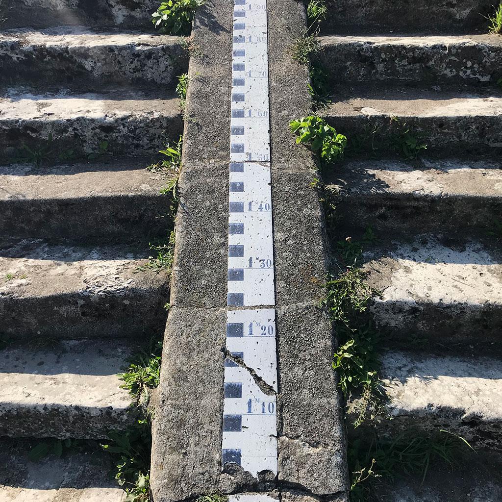 marches anciennes avec unite de mesure