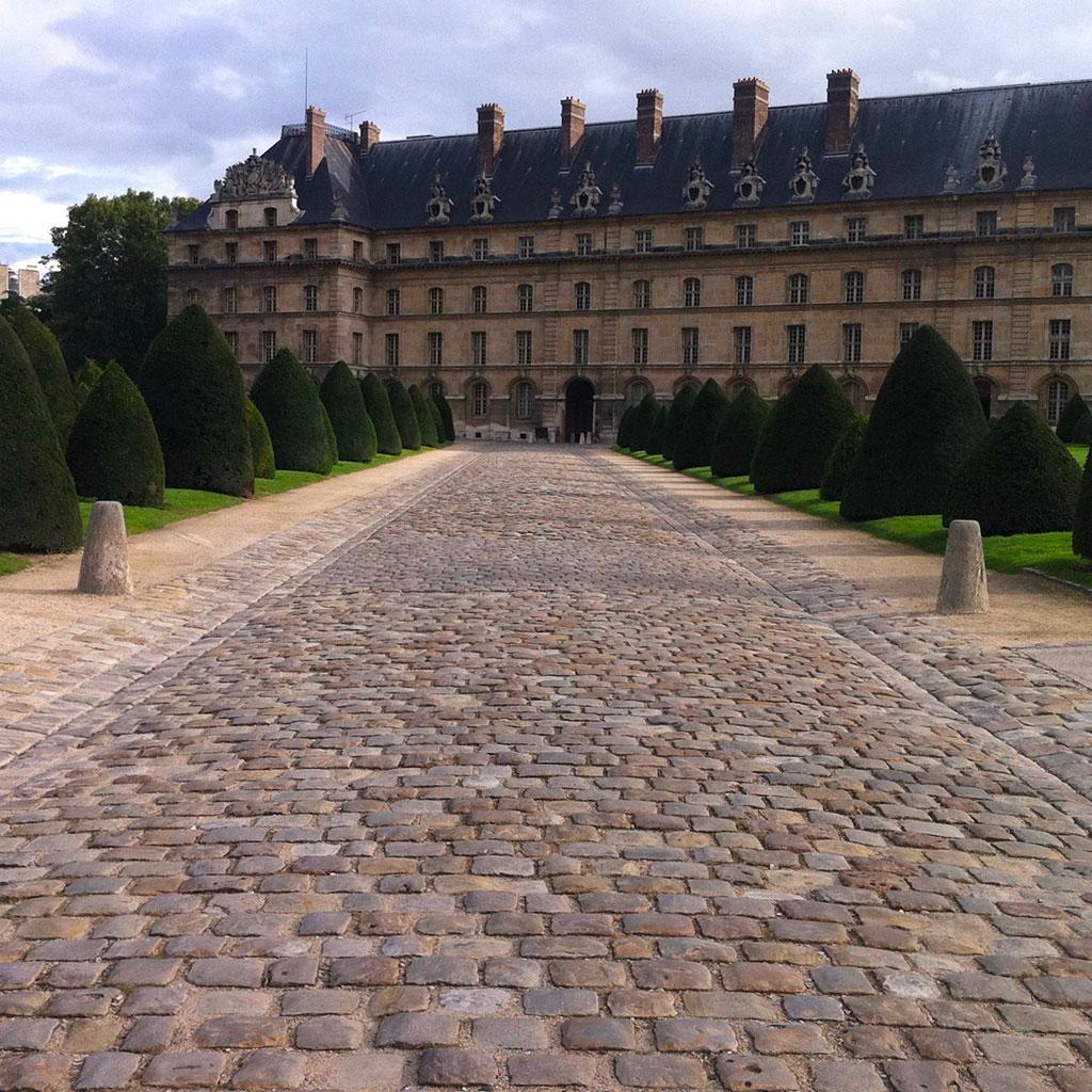 les pavés en pierre anciennes à Paris
