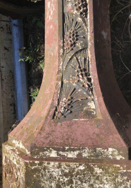 authentique lampadaire ancien du fabricant Durenne