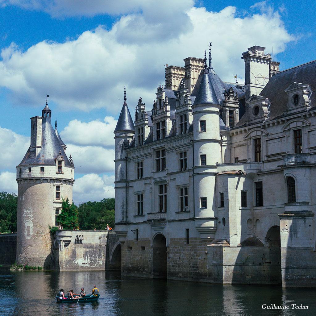 Château de Chenonceau vue extérieur