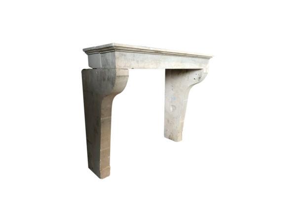 cheminée ancienne de style campagnard