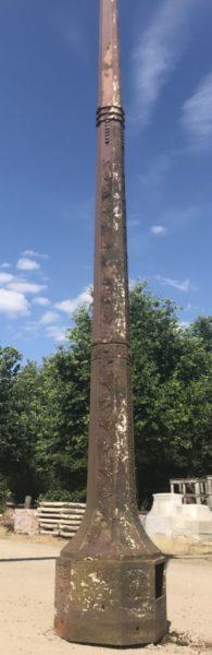 lampadaires anciens du fabricant Durenne