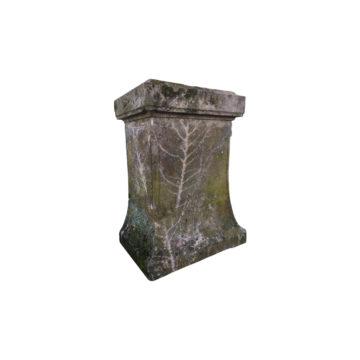 Stèle ancienne en pierre calcaire