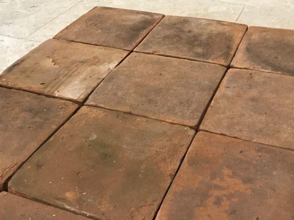 carreaux en terre cuite antique