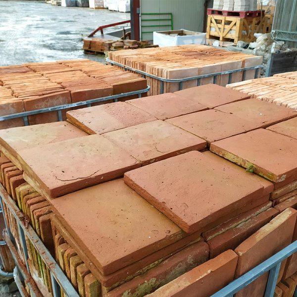 grand carreaux terre cuite 27,5 cm