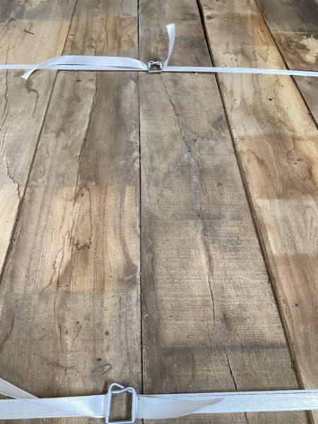 plancher ancien en bois d'orme