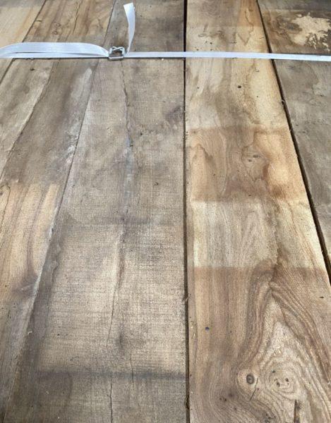 plancher ancien en orme