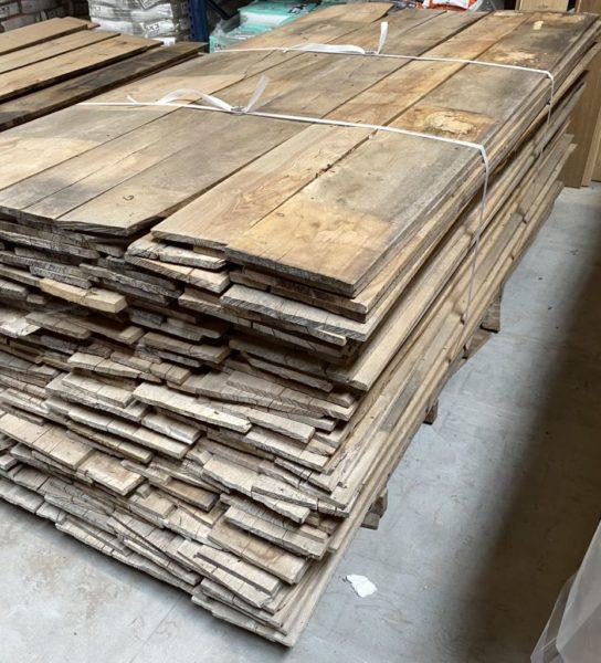 plancher ancien de récupération d'une ferme