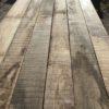 superbe planche épaisse en chêne de récupération