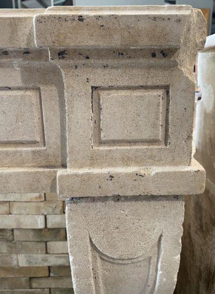 cheminée régence du XVIII ème siècle