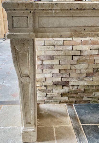 cheminée de style louis XIV