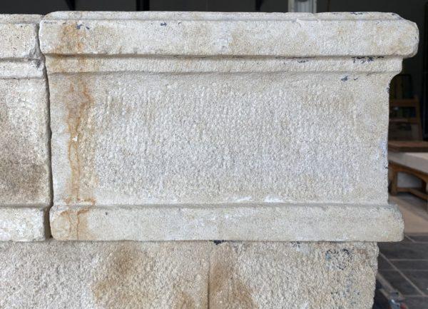 détails de la pierre calcaire